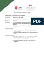 Leadership - Jay Carson - Effective Leadership