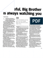 big brother opinion article