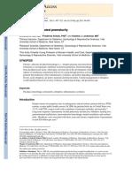 Abruption Associated Prematurity