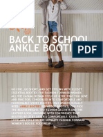 Back to School Ankle Booties - OTBT Shoes