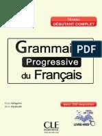 Grammaire Progressive - Debutant