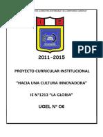 Pci-1213-La Gloria 2015 Correo