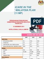 Healthcare in 11MP - Datuk Alauddin