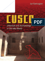 Ian Farrington - Cusco. Urbanism and Archaeology in the Inka World