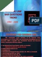 Criminal Law Bar Trend Version 3