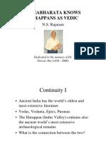 Mahabharata Knows Harappans as Vedic