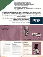 Rolleiflex t 1
