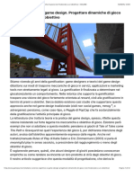 Scienze Cognitive e Game Design