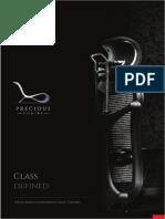 Precious Chairs e Catalogue