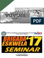 Brigada Eskwela Seminar 2017