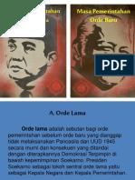 Pertemuan 8 Pemerintahan Orde Lama Dan Orde Baru