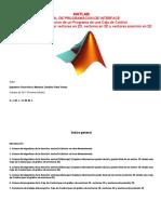 MATLAB (Manual Programacion Interface Vectores - 1ra Edicion)
