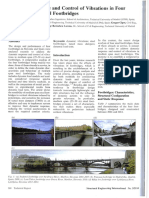 P-34903-Dynamique Response and Control of Vibrations in Four Medium Span Steel Footebrigdes