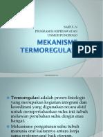 MEKANISME TERMOREGULASI