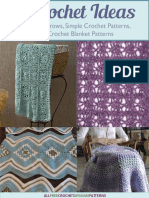 8 Crochet Ideas for Crochet Throws Simple Crochet Patterns and Crochet Blanket Patterns eBook.pdf