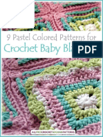 9 Pastel Colored Patterns for Crochet Baby Blankets.pdf