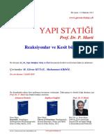 44_01_1_Reaksiyonlar+Kesit-Buyuklukleri