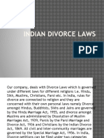 Indian Divorce Laws