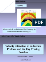 Mathematical Methods for finding oil