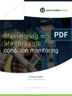 Maximize Motor Life With Condition Monitoring - White Paper