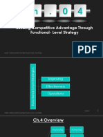 Stategic Management Chapter 4