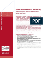 Unsafe Abortion Mortality