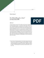 StudZR 2012-1 Bettien Trust Deutsches IPR