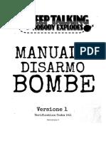 Keep Talking and Nobody Explodes v. 1 - Italiano