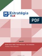 Direito Civil OAB Estratégia Aula 00