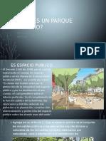 Qué Es Un Parque Urbano