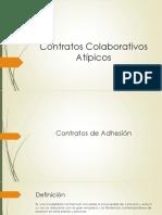 Contratos Colaborativos Atípicos
