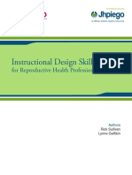 InstructionalDesign Manual