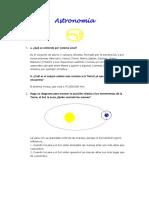 Astronomía I