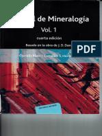 Manual de Mineralogia Cap 1 y 2