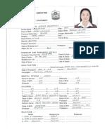 Ai-Ain Dairy Application Form