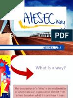 2. Aiesec Way