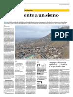 El País Frente a Un Sismo