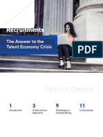 Campus Recruitments - The Answer to the Talent Economy Crisis (1)
