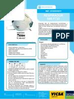 Respirador F720 N95