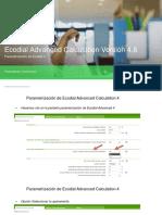 Guia Parametrización de Ecodial Advanced 4