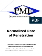 Normalized Rate of Penetration
