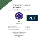 SAP 13 KELOMPOK 12 - Peran Auditor Eksternal Dalam GCG