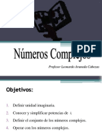 Numeros Complejos Tercero Medio12121212121