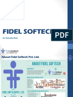 Fidelsoftech Introduction