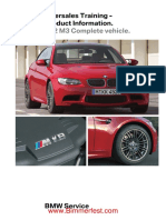 BMW - Aftersales Training - Product Information - E92 M3 Complete Vehicle