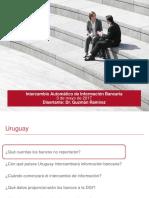 Intercambio automático de información bancaria -- Guzmán Ramírez