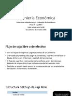 Ingeniería Económica- VAN, TIR