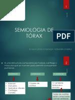 Semiologia de  Torax
