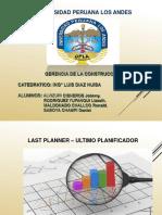 Last Planner- Gerencia