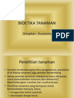 Kwt 2 Bioetika Tanaman